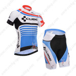 2014 Team CUBE Cycling Kit Blue