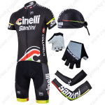 2014 Team Cinelli Pro Cycling Set Black
