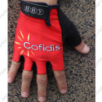 2014 Team Cofidis Cycling Gloves Mitts Red