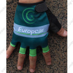 2014 Team Europcar Cycling Gloves Mitts Green