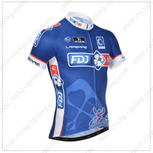2014 Team FDJ Cycling Jersey2014 Team FDJ Cycling Jersey
