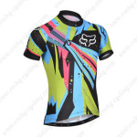 2014 Team FOX Bike Jersey Colorful
