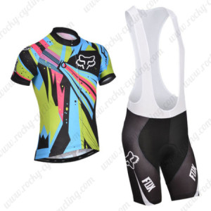 2014 Team FOX Cycling Bib Kit Colorful