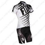 2014 Team FOX Cycling Kit Black White
