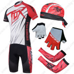 2014 Team FOX Pro Cycling Set White Red