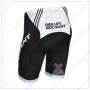2014 Team GIANT Bike Shorts White Black