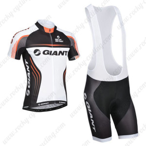 2014 Team GIANT Cycling Bib Kit White Black2014 Team GIANT Cycling Bib Kit White Black