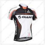 2014 Team GIANT Cycling Jersey White Black
