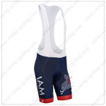 2014 Team IAM SCOTT Cycling Bib Shorts Dark Blue