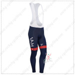 2014 Team IAM SCOTT Cycling Long Bib Pants Dark Blue