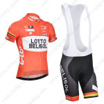 2014 Team LOTTO BELISOL Cycling Bib Kit