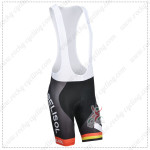 2014 Team LOTTO BELISOL Cycling Bib Shorts