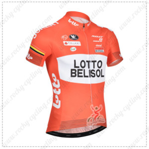 2014 Team LOTTO BELISOL Cycling Jersey
