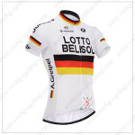 2014 Team LOTTO BELISOL Cycling Jersey White