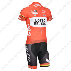 2014 Team LOTTO BELISOL Cycling Kit