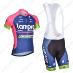 2014 Team Lampre MERIDA Cycling Bib Kit