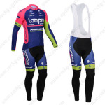 2014 Team Lampre MERIDA Cycling Long Bib Kit