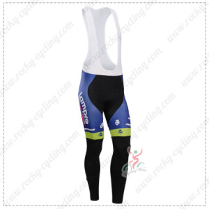 2014 Team Lampre MERIDA Cycling Long Bib Pants