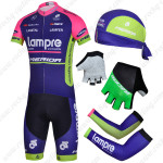 2014 Team Lampre MERIDA Pro Cycling Set Blue