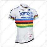 2014 Team Lampre MERIDA UCI Cycling White Jersey