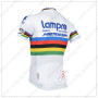 2014 Team Lampre MERIDA UCI Riding White Jersey