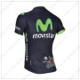 2014 Team Movistar Riding Jersey Dark Blue