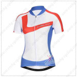 2014 Team NALINI Women Cycling Jersey White Blue
