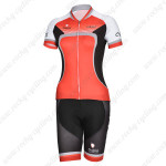 2014 Team NALINI Women Cycling Kit Red Black