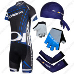 2014 Team ORBEA Pro Cycling Set Black Blue