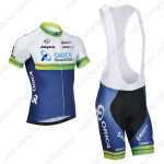 2014 Team ORICA GreenEDGE Cycling Bib Kit White Blue