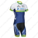 2014 Team ORICA GreenEDGE Cycling Kit White Blue