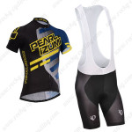 2014 Team PERAL IZUMI Cycling Bib Kit Black Blue