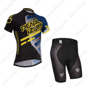2014 Team PERAL IZUMI Cycling Kit Black Blue