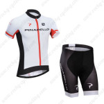 2014 Team PINARELLO Cycling Kit White Red