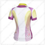 2014 Team Pearl Izumi Women Bike Jersey White Purple