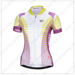 2014 Team Pearl Izumi Women Cycling Jersey White Purple