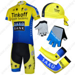 2014 Team SAXO BANK Pro Cycling Set Yellow Blue