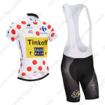2014 Team SAXO BANK Tour de France Polka Dot Cycling Bib Kit
