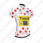 2014 Team SAXO BANK Tour de France Polka Dot Cycling Jersey