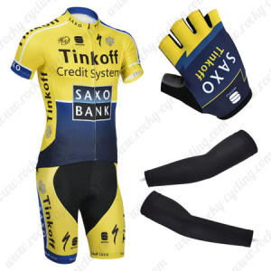 2014 Team SAXOBANK Pro Cycling Suit+Gears