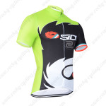 2014 Team SIDI Pro Cycling Jersey Green Black