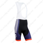 2014 Team SKY Cycling Bib Shorts Blue Red