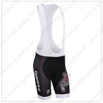 2014 Team Santini Cycling Bib Shorts Black