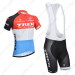 2014 Team TREK Cycling Bib Kit Red Blue