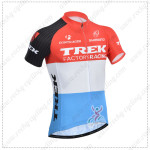2014 Team TREK Cycling Jersey Red Blue
