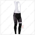 2014 Team TREK Cycling Long Bib Pants Black White