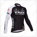 2014 Team TREK Cycling Long Jersey Black White