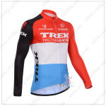 2014 Team TREK Cycling Long Jersey Red Blue