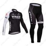 2014 Team TREK Cycling Long Kit Black White