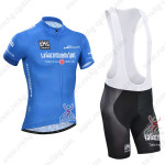 2014 Tour de Italia Cycling Bib Kit Blue
